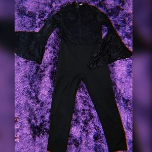 Plus Size Bell Sleeve Jumpsuit